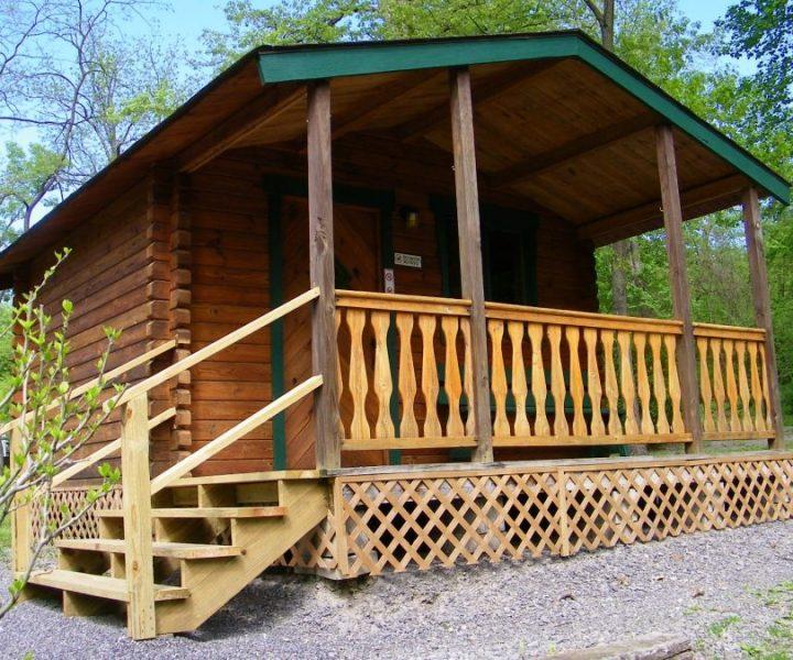 One Bedroom Bunk Cabin