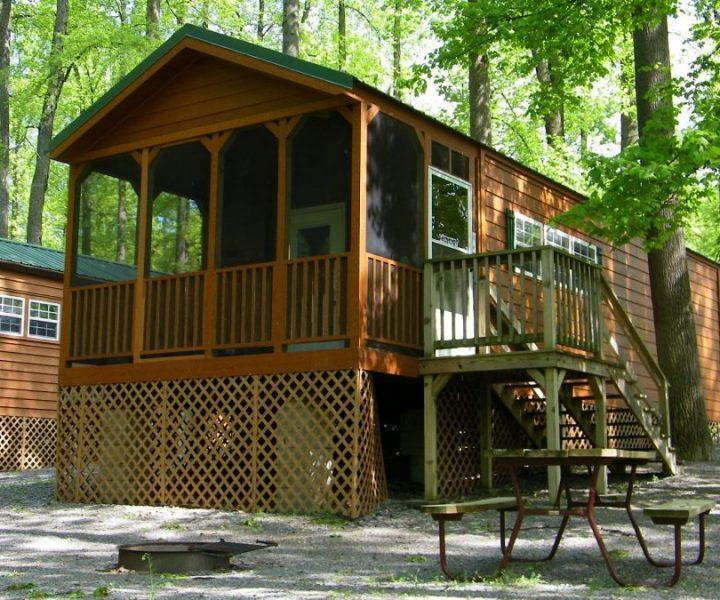 Lakefront Bunk Cabin