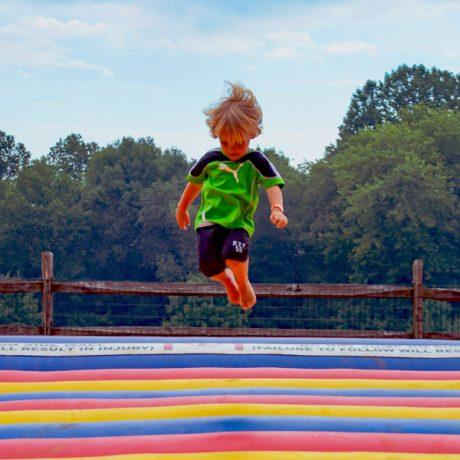 toddler jumping pillow