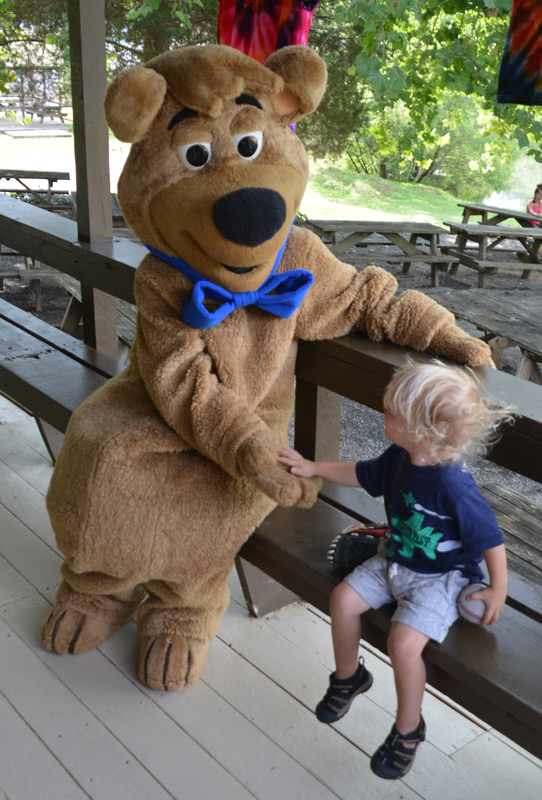 toddler with BooBoo